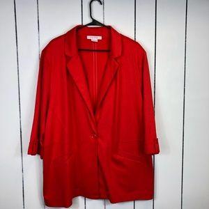 Pennington's In Every Story... Red Blazer Sz 2X